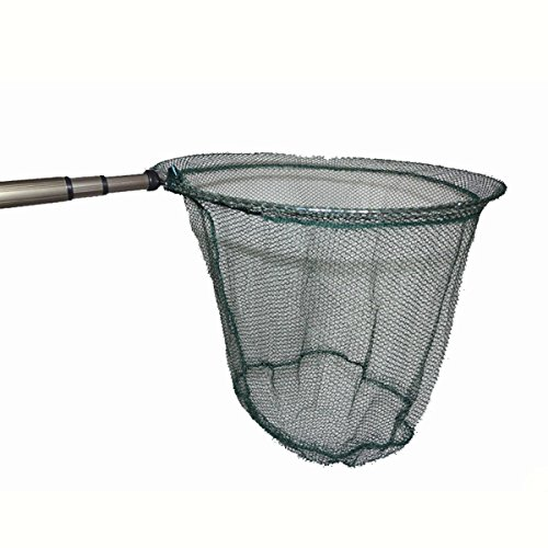 Soytich - Guadino da pesca Retino con manico telescopico (kescher022)