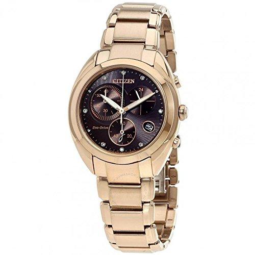 orologio cronografo donna Citizen Eco-Drive sportivo cod. FB1395-50W