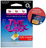 O2 (2G/3G/4G) UK Trio SIM PAYG £20 (convert to Bundle -8GB Data, 2000 mins + 5000 Texts) + International Calling Card - (Love2surf RETAIL PACK)