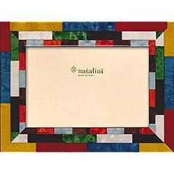 Natalini Mira Rosso  B  G 10x 15Bilderrahmen, Holz/Glas, mehrfarbig 20x 15x 1,5cm