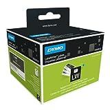Dymo LabelWriter, etiquetas de tarjetas de identificación no adhesivas, 51 x 89 mm (rollo de 300), impresión negra sobre fondo blanco