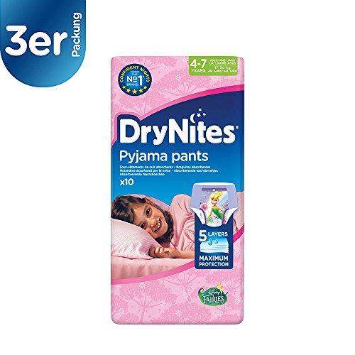 DryNites Mutandine Assorbenti per la Notte - 3 Confezioni da 600 g