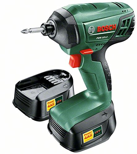 Comes with battery and charger - Bosch PDR 18 LI Cordless Impact Wrench