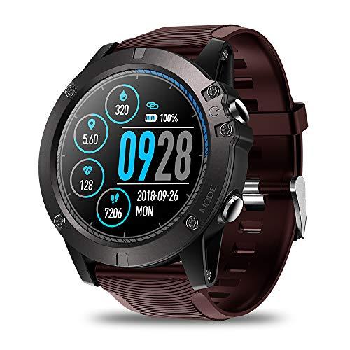 Festnight Zeblaze Vibe 3 PRO Smart Watch da 1,3' IPS Display a Colori Femmina Intelligente Bracciale BT4.0 Frequenza cardiaca Sonno Monitoraggio Pedometro Cronometro Remote Camera Fitness IP67