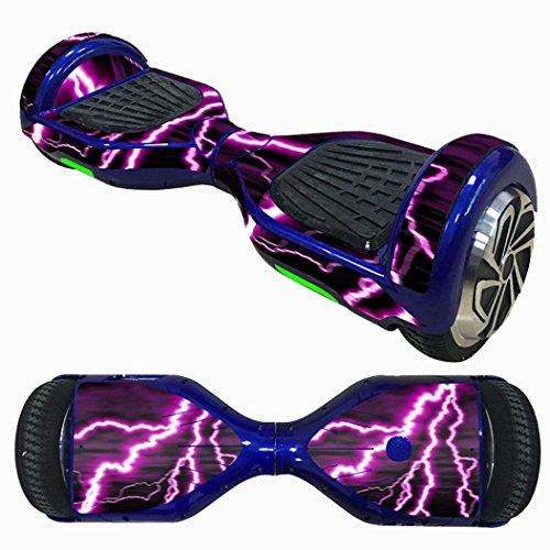 Gusspower decalcomania reincollabile e protettiva per skateboards elettrici, hoverboards o veicoli a...