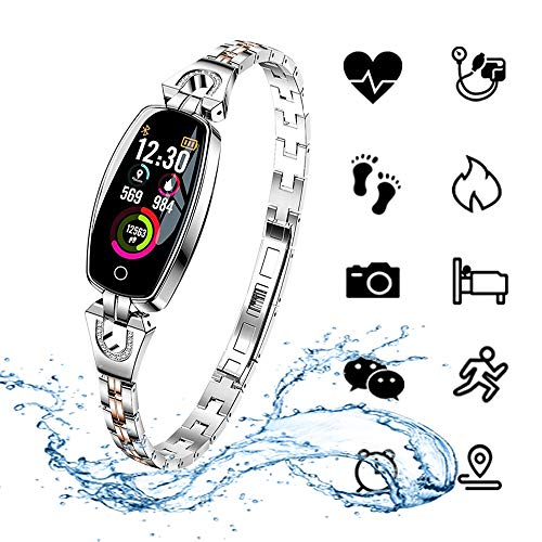 ydkj Fitness Tracker Orologio Braccialetto Fitness Cardiofrequenzimetro Monitoraggio Sonno Pressione...