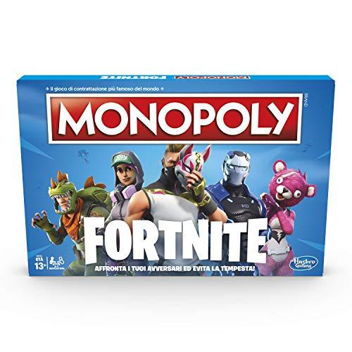 Hasbro Monopoly E6603103 Edizione Fortnite Gioco da Tavolo, Versione in Lingua Italiana