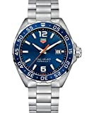 TAG Heuer Men Analogue Quartz Watch with Stainless Steel Strap WAZ1010.BA0842