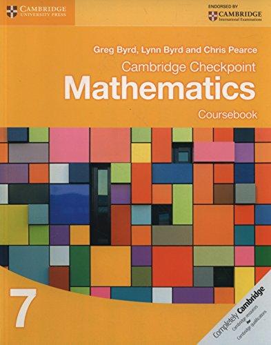 Cambridge checkpoint mathematics. Coursebook. Per le Scuole superiori. Con espansione online:...