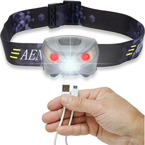The Aennon USB Rechargeable LED Head Torch is a top quality head torch that is handy when hands-free operation is needed. It has awesome features that make it very convenient in a variety of situations. Its weight especially is something you can never feel. Its adjustable head band ensures anyone in your family or friends can use the torch. It comes with an easy to use button function which, of course, allows you to put on/off as well as select the light modes.