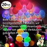 Besondere Partydekorationen - Mehrfarbige Leuchtballons. Diese fantastischen Light-Up Balloons sind sehr einfach zu verwenden und machen aufregende und interessante Dekorationen, über die Gäste noch lange nach dem Ende der Feier sprechen werden. Zieh...