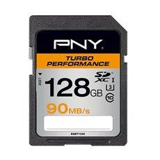 PNY SD128TURPER90-EF - Tarjeta SD