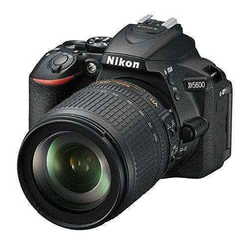 Nikon D5600 + 18-105 VR Kit de Reflex numérique 24,2 Mpix Noir