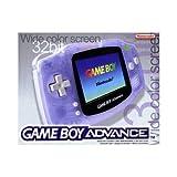 Game Boy Advance Konsole Clear Blue - [Edizione: Germania]
