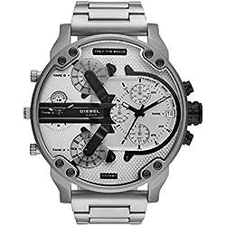 Diesel Reloj Analógico para Hombre de Cuarzo con Correa en Acero Inoxidable DZ7421