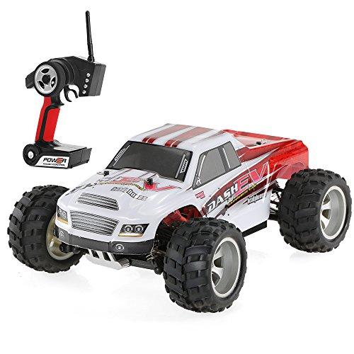 Goolsky WLtoys A979-B 2.4G 1/18 Scala 4WD 70KM / h Rally elettrico ad alta velocità RC Rally Truck RC