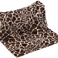 katzeninfo24.de Trixie 43208 Liegemulde für die Heizung, Giraffenmuster, 48 × 26 × 30 cm