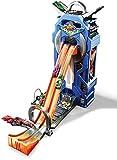 Hot Wheels City Mega Garage, coffret de jeu pour petites voitures avec circuit et pistes, Jouet pour enfant, FTB68