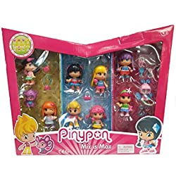 Pinypon 10 figuras + 30 accesorios