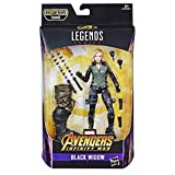 Hasbro Marvel Legends Series- Black Widow Action Figure da Collezione, 15 cm, Ispirata al Film, Multicolore, E3983CB0