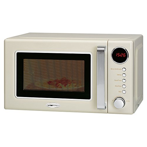 Clatronic MWG 790 790-Forno a Microonde con Grill 1000W, Display Digitale, 9 programmi Automatici,...
