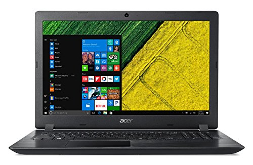 "Acer Aspire 3 A315-33-C89K - Ordenador portátil de 15.6"" HD (Intel Celeron N3060, 4 GB RAM, 500 GB HDD, Intel HD 400, Windows 10 Home) Negro - Teclado QWERTY Español"