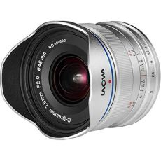 Laowa VE7520MFTSTSIL - Objetivo de 7.5 mm para cámaras de Micro 4/4 (16.9 MP, HD 720p) color plata