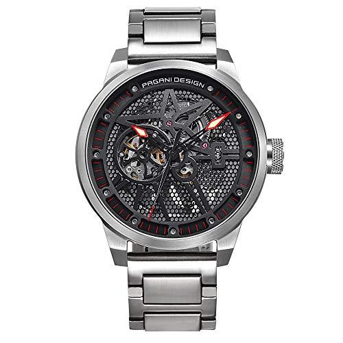 Pagani Design Mens Classic orologio meccanico impermeabile Cinturino acciaio inossidabile orologio...