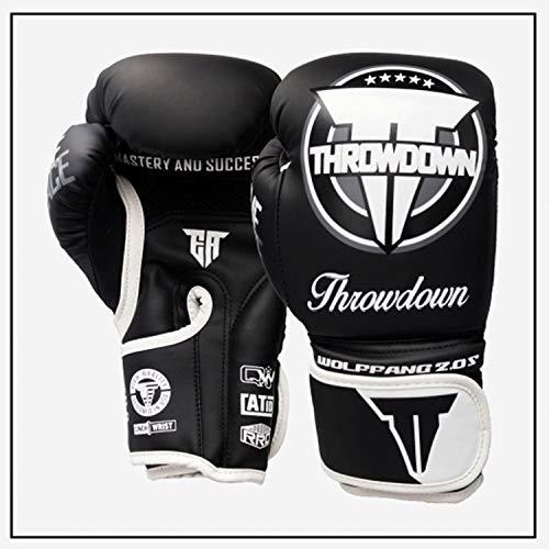 NINGXUE-Gloves Guanti Allenamento Stile PRO, guantoni da Boxe per Uomo e Donna Guanti Kickboxing...