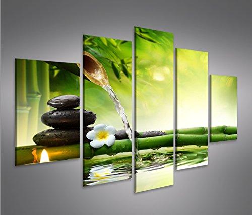 Quadro moderno Acqua Zen V3 MFP Stampa su tela - Quadro x poltrone salotto cucina mobili ufficio...