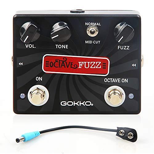 GOKKO AUDIO GK-31 OCTAVE FUZZ Overdrive Guitar Effect Pedal