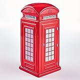Ceramic Red Telephone Money Box