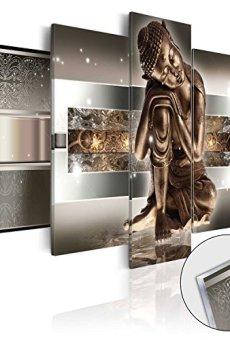 murando – Cuadro de Cristal acrílico 100×50 cm – Cuadro de acrílico – Impresion en Calidad fotografica – Buda h-C-0034-k-m