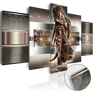 murando - Cuadro de Cristal acrílico 200x100 cm - Cuadro de acrílico - Impresion en Calidad fotografica - Buda h-C-0034-k-m 3