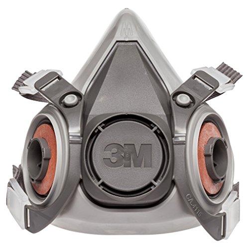 3M 3M-6200 Half Facepiece Reusable Respirator, Without Cartridges(Medium) 4