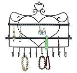 KAIMENG Supporto per collana a forma di cuore parete porta gioielli Espositore per gioielli