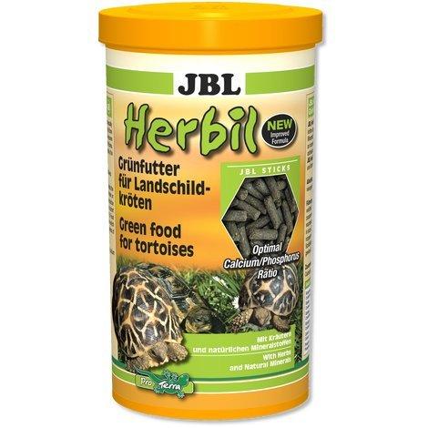 JBL, mangime Herbil, a Forma di Pellet, Adatto per Le Tartarughe di Terra [Etichetta in Lingua Italiana Non Garantita]