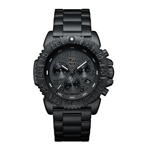 Luminox Navy SEAL Steel Colormark Herren-Armbanduhr Chronograph Quarz Edelstahl - XS.3182.BO