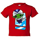 Camiseta niño Dragon Ball Bola de Dragón Piccolo Jr Kawaii - Rojo, 7-8 años