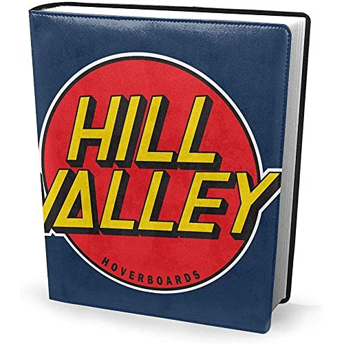 Copertina del libro Hoverboard Hill Valley 9x11 pollici Back to The Future - Lavabile riutilizzabile...