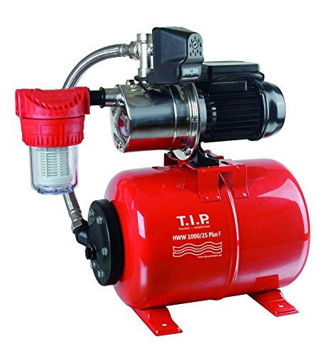 T.I.P. 31144 Hauswasserwerk HWW 1000/25 Plus F mit Vorfilter