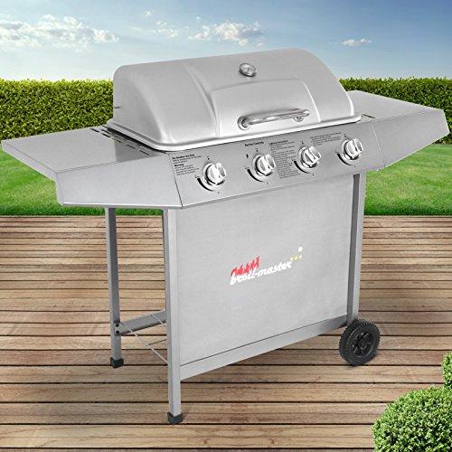 Broil-master Barbecue grill griglia giardino barbecue a gas con 4 bruciatori principali nel colore...