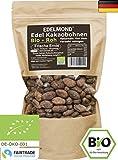 Edelmond Bio Kakaobohnen rohe Frischware ✓ Neue Lieferung vom 30.6.2017 ✓ Ohne Insektizide ✓ Edelschokoladen Bohne ✓ Kein Klonkakao enthalten ✓ Fair-Trade - 250g