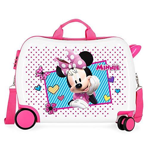 Disney Joy Valigia per bambini 50 centimeters 34 Multicolore (Multicolor)