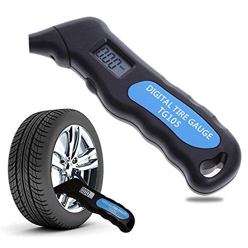 misuratore di pneumatici digitali, misuratori di pressione pneumatici elettronici con display lcd...