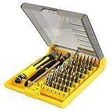 TRIXES Kit à outils de réparation pour téléphone de voiture contenant 45 vis hexagonales de précision