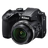 Nikon COOLPIX B500 - Cámara Digital de 16 MP (4608 x 3456 Pixeles, TTL, 1/2.3', 4-160 mm) Color Negro