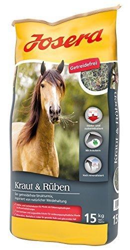 Josera Pferdefutter Kraut & Rüben, 1er Pack (1 x 15 kg)