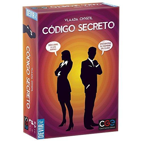 Devir Código Secreto Juego de Mesa BGCOSE