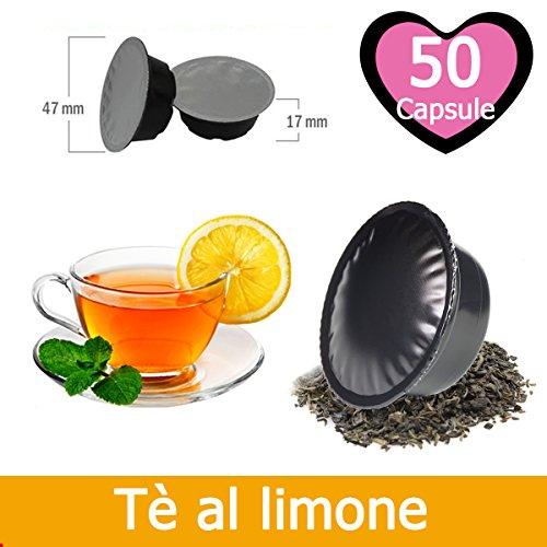 50 Capsule Tè Al Limone Compatibili Lavazza A Modo Mio
